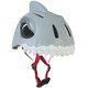 Crazy Safety Shark Helm grau